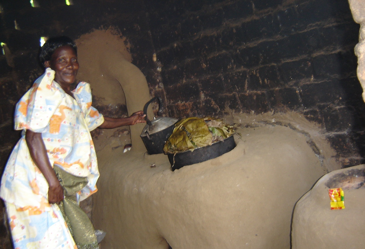 One energy saving stove supported by CESA-Uganda can cook 2 items at ago thus saving on fuel used.